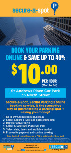St Andrew's Place SAS $10 Per Hour